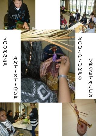 Atelier création de sculptures végétales